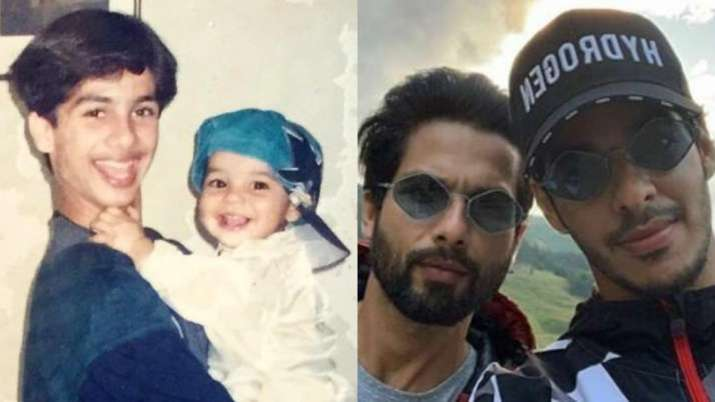 On Shahid Kapoor's Birthday, Ishaan Khatter Shares Then And Now Post With A Filmy Caption
