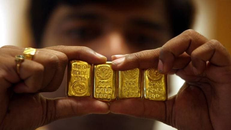 Gold rates level at Rs 44,680 for each 10 gram as dollar bounce back; silver ascents Rs 83 a kg